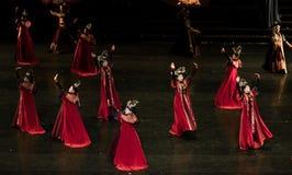 Dança de corte da dança 7-Classical de Geiger fotos de stock royalty free
