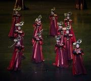 Dança de corte da dança 11-Classical de Geiger fotos de stock