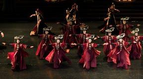 Dança de corte da princesa Gege Dance 1-Classical fotografia de stock royalty free
