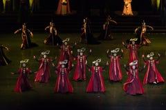 Dança de corte da princesa Gege Dance 3-Classical fotografia de stock royalty free
