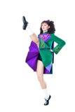 Dança de dança do irish fotografia de stock