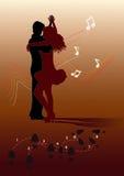 Dança de estática Fotos de Stock Royalty Free
