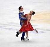 Dança de gelo imagem de stock