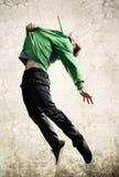Dança de Grunge fotos de stock royalty free