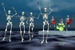 Dança de Halloween Fotos de Stock Royalty Free