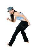 Dança de Hip Hop imagens de stock