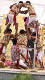 Dança de Jharkhand Imagem de Stock
