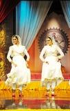 Dança de Kathak Imagens de Stock Royalty Free