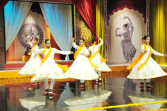 Dança de Kathak Fotos de Stock Royalty Free