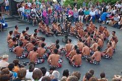 Dança de Kecak Imagem de Stock Royalty Free