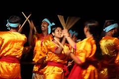Dança de Kolkali Imagem de Stock