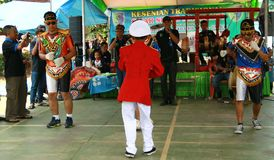 Dança de Kubro Siswo fotos de stock