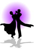 Dança de Quickstep Fotografia de Stock
