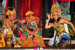 Dança de Ramayana. fotografia de stock royalty free