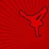 Dança de ruptura [01] Imagem de Stock Royalty Free
