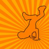 Dança de ruptura [02] Foto de Stock Royalty Free