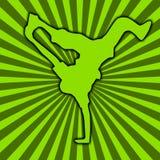 Dança de ruptura [03] Imagem de Stock Royalty Free