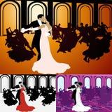 Dança de salão Imagens de Stock
