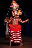 Dança de Theyyam em Kerala, Índia sul Fotografia de Stock Royalty Free