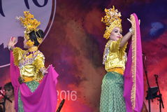 Dança de Timang Burung Imagens de Stock