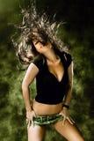 Dança de Wilde Fotografia de Stock Royalty Free