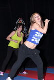 Dança de Zumba Fotografia de Stock