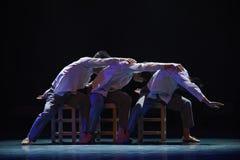 Dança do apego-terreno da rede Foto de Stock Royalty Free