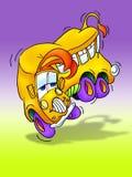 Dança do auto escolar feliz Imagem de Stock