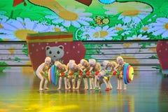 Dança do Barbell imagens de stock