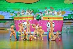 Dança do Barbell imagem de stock