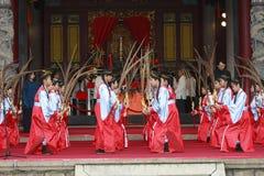 Dança do chinês Imagem de Stock Royalty Free