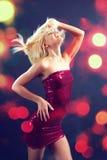 Dança do clube foto de stock royalty free