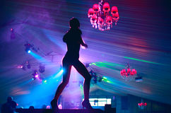 Dança do disco Fotografia de Stock Royalty Free