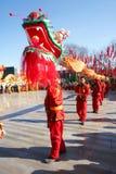 Dança do dragão Imagens de Stock