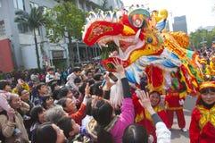 Dança do dragão Foto de Stock