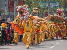 Dança do dragão Fotos de Stock