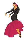 Dança do espanhol Imagens de Stock
