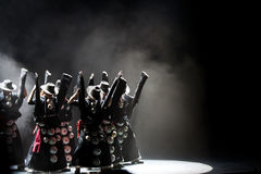 Dança do festival fotos de stock