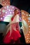 Dança do Flamenco Imagens de Stock