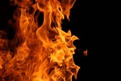 Dança do fogo do acampamento imagem de stock royalty free
