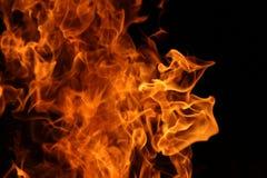 Dança do fogo do acampamento fotos de stock