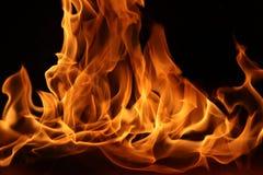 Dança do fogo do acampamento imagens de stock royalty free