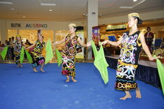 Dança do folclore Fotografia de Stock
