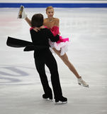 Dança do gelo Imagem de Stock Royalty Free