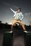 Dança do homem foto de stock royalty free