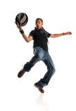 Dança do homem de Hip Hop Foto de Stock Royalty Free