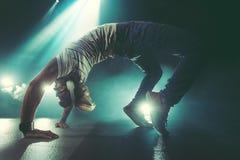 Dança do homem novo Imagem de Stock Royalty Free