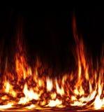 Dança do incêndio Fotografia de Stock