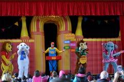 Dança do jardim zoológico Foto de Stock Royalty Free
