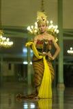 Dança do Javanese foto de stock royalty free